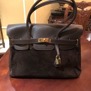 Handbags - Genuine leather brown Handbag